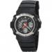 Цены на Наручные часы Casio AW - 590 - 1A Кварцевые часы. 12 - ти и 24 - х часовой формат времени. Мировое время  -  показания текущего времени в основных городах и часовых поясах мира.Максимальное время измерения секундомера 1 час,   шаг измерения 1/ 100.Дополнительная защит