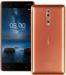 Цены на Nokia 8 64GB Dual (4GB RAM) Polished Coper Android 7.1 Тип корпуса классический Материал корпуса алюминий Управление механические/ сенсорные кнопки Тип SIM - карты nano SIM Количество SIM - карт 2 Режим работы нескольких SIM - карт попеременный Вес 160 г Размеры