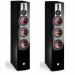 Цены на Напольная АС DALI Rubicon 8 Black High Gloss (пара) Динамики Каждый из динамиков в серии RUBCION специально согласован с параметрами конкретной модели и изготовлен на фабрике DALI. Три 6Ѕ   - дюймовых драйвера RUBICON 8 работают совместно,   воспроизвод