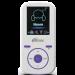 Цены на Плеер Ritmix RF - 4450 4Gb White/ Violet Ritmix RF - 4450  -  это доступный эргономичный плеер,   поддерживащий все виды мультимедиа: музыку,   радио,   диктофон,   фото и текст. Устройство обеспечивает высококачественное звучание,   помимо стандартных форматов оно воспро