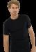 Цены на Модная мужская футболка черного цвета SCHIESSER 205430шис Черный SCHIESSER  -  Футболка эластичная,   не теряет форму после стирки  -  Горловина круглая,   отделана кантом,   не растянется  -  Модель премиум - класса Элегантная черная футболка от компании Schiesser – у