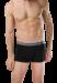 Цены на Стильные и удобные мужские трусы черного цвета с серым пояском на резинке SCHIESSER 205427шис Черный SCHIESSER