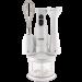 Цены на Vigor HX - 5910 Дисплей  -  Нет,   Мерный стакан  -  Есть,   Цвет  -  Белый,   Емкость мерного стакана  -  0.6,   Материал корпуса  -  Пластик,   Диск для нарезки ломтиками  -  Нет,   Емкость мельнички  -  0.5,   Венчик для взбивания  -  Есть,   Количество скоростей  -  3,   Измельчитель  -  Не