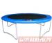 Цены на DFC Размер батута (диаметр): 3050 ммВысота батута: 760 ммПрыжковая поверхность: черная,   устойчивая к ультрафиолетовому излучениюЗащитное покрытие каркаса и пружин: ПВХ  +  полиэтиленКоличество пружин 60 штПрыжковая поверхность  -  особопрочный полипропилен Пе