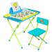 Цены на Набор мебели Ника Пушистая Азбука (стол с мягким стульчиком) КУ2ПА