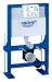 Цены на Grohe Инсталляция для унитаза Grohe Rapid SL 38587000 Для свободно стоящего монтажа,   монтажаперед стеной или стеной  -  перегородкой Самонесущая стальная рама спорошковым напылением Подготовлена для облицовки Фиксированные подключения Для одиночного монта