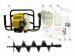 Цены на Champion Мотобур Champion AG243 В комплект поставки входит шнек диаметром 150 мм Технические характеристики АртикулAG243 Гарантия1 год Объем двигателя 42.7 см3 Тип двигателя 2х тактный Мощность ДВС max 1.7 л.с. Объем топливного бака0.98 л Сверло150 х 550