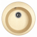 Цены на Dr.Gans Кухонная мойка Dr.Gans ГАЛА d510 дюна Тип: мойка кухонная Материал: искусственный гранит Форма: круглая Ширина мойки: 510 мм Длина мойки: 510 мм Глубина мойки: 200 мм Установка: встраиваемая сверху Число основных чаш: 1 Крыло: нет Отверстие под см