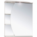Цены на RUNO Зеркало c подсветкой RUNO Линда 65 Вн Ш85 правый белый Тип: зеркальный шкаф Монтаж: настенный Ширина: 650 мм Высота: 750 мм Глубина: 240 мм Форма мебели: прямоугольная Конструкция: полочки слева Подсветка: есть Материал: ЛДСП,   МДФ Комплектация: 1 све