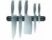"""Цены на RONDELL Набор ножей RONDELL RD - 332 Характеристики набора ножей Rondell Messer RD - 332 Высококачественная немецкая нержавеющая сталь X30Cr13. Цельнокованый нож (клинок,   шейка) Рукоятка  -  сталь 18/ 10 с узором """"змеиная кожа"""",   препятствующая скольжению в руке."""