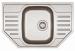 Цены на Franke Кухонная мойка Franke PXN 612 - E (101.0193.000) матовая с вент. Franke Polar PXN 612 - E  -  угловая кухонная мойка с одной большой чашей в угловой шкаф или в шкаф от 45 см. Размер мойки 78 x 49 см Вырез по шаблону. Чаша 35 x 41 x 17,  5 см Ширина шкафа о