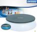 Цены на Intex Тент Intex для бассейнов 396 см 28026 Защитный тент для круглого бассейна диаметром 396 см. Изготовлен из качественного ПВХ,   толщиной 0,  18 мм. Крепится шнурами по периметру бассейна,   замедляя остывание воды в холодное время суток и предотвращая засо
