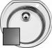 Цены на Blanco Кухонная мойка Blanco Rondoval (513312) Тип мойка Монтаж встраиваемый сверху Материал нержавеющая сталь Ширина,   см 53.5 Длина,   см 49 Глубина,   см 18 Формакруглая Поверхность матовая Цветсталь Число основных чаш 1 Диаметр слива,   см 8.89 Намеченных от