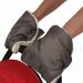 Цены на BamBola Муфты - варежки для коляски BamBola шерстяной мех + плащевка(лайт) Шоколад 155В Муфта - варежка на ручку коляски редставляет собой 2 варежки,   которые подходят для всех типов колясок и очень легко одеваются,   защищая ваши руки от холода. Ткань муфты водоо