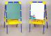 Цены на Ника Мольберт Ника растущий со счетами М2 Синий Двухсторонний мольберт растущий с магнитной азбукой и счетами предназначен для детей от 1 года. В его комплект входят доска для рисования маркером или мелом,   вместительный пластиковый пенал для художественны
