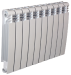 Цены на Секционный биметаллический радиатор Elegance Wave Bimetallico 350 \  01 cекция \  Элеганс Вэйв 350