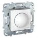 Цены на Диммер светорегулятор поворотный 1 - 10В 400VA Schneider Electric UNICA белый MGU5.510.18ZD