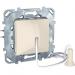 Цены на Выключатель со шнурком 1 м без фиксации Schneider Electric UNICA бежевый MGU5.226.25ZD