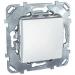 Цены на Переключатель Schneider Electric UNICA белый MGU5.203.18ZD