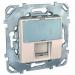 Цены на Телефонная розетка 6 контактов Schneider Electric UNICA бежевая MGU5.493.25ZD