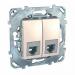 ���� �� ���������� ������� 6 ��������� Schneider Electric UNICA ������� MGU5.9191.25ZD