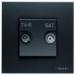���� �� ������������� ������� TV - R - SAT ABB Niessen Zenit ��������� � ��������� �������� N2251.3 AN