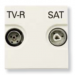 ���� �� ������������� ������� TV - R - SAT ABB Niessen Zenit ��������� � ��������� ���������� ����� N2251.7 BL