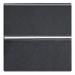 Цены на Переключатель ABB Niessen Zenit одноклавишный с клавишей 2М Антрацит N2202 AN