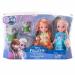 """Цены на Disney Princess Disney Princess 310630 Принцессы Дисней Холодное Сердце 2 куклы 15 см и тролли Кукла 310630 Игровой набор Disney Princess с Анной и Эльзой из мультфильма """"Холодное Сердце"""". Помимо куколок принцесс,   включает двух троллей  -  друзей Кристоффа."""