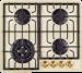 Цены на KUPPERSBERG KUPPERSBERG TG 699 C газовая варочная панель поверхность из закаленного стекла 4 газовые конфорки трехконтурная конфорка переключатели поворотные электроподжиг независимая установка габариты (ШхГ) 59x52 см