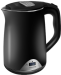 Цены на Redmond Redmond RK - M125D черный чайник объем 1.5 л мощность 1500 Вт закрытая спираль установка на подставку в любом положении корпус из стали и пластика ненагревающийся корпус дисплей индикация включения