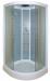 Цены на Душевая кабина ARCUS (Аркус) AS - 112 угловая,   с низким поддоном,   стеклянная,   маленькая,   размер 80х80 см,   для дачи Закрытая душевая кабина полукруглой формы. Габариты 80х80х215 см. Низкий поддон 15 см. Производитель  -  Arcus. Преимущества кабин Arcus: при пр