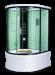 Цены на Душевая кабина LanMeng (ЛанМенг) LM834TG угловая с ванной,   с глубоким поддоном (высокая),   размер 125х125 см 125х125х213 см Современный дизайн,   мощное ударопрочное стекло,   надежный поддон с антискольжением,   удобное сиденье. LanMengLM834TG  -  это закрытая ги