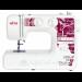 Цены на ELNA Швейная машина Elna TS456 TS456 Компактная,   предназначенная для применения в домашнем режиме – швейная машина ELNA TS456 – обеспечивает выполнение 15 поддерживаемых операций. С ней можно создавать прямые и фигурные строчки,   выполнять обметку кромки и