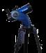 Цены на Телескоп Meade StarNavigator NG 90 мм Maksutov (с пультом AudioStar) Превосходная оптика Meade Оптическая труба MEADE StarNavigator NG 90 мм Maksutov исполнена на основе классической схемы Максутова - Кассегрена с главным зеркалом диаметром 90 мм и мениском