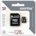 Цены на MicroSD 128GB Class 10  +  SD адаптер Карта памяти MicroSD 128GB SmartBuy Class 10  +  SD адаптер
