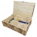 """Цены на Ящик деревянный подарочный с крышкой и наполнителем Деревянный подарочный ящик для инструмента EstwingЯщик выполнен из натуральной древесины с обжигом,   откидная крышка оборудована петлями и защелкой. В комплектации бумажный наполнитель """"Пергамент"""". Размер"""