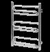 Цены на Полотенцесушитель Terminus Юпитер 32/ 20 П9 3 - 3 - 3 (400*830) Terminus Модель «Юпитер» не может остаться незамеченной. Изогнутые под разными углами перекладины создают замысловатый узор и придают всей конструкции неповторимый шарм и изысканность. От 6 до 12