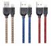 Цены на / Lightning Sagitar Double Sieded 1000mm Blue Remax USB - кабель предназначенный для зарядки.