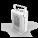 Цены на Тепловентилятор Timberk TFH T15PDS.X Timberk Тепловентилятор с металлокерамическим нагревательным элементом. Мощность 1500 Вт,   два режима,   регулируемый термостат.