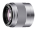 Цены на Sony Объектив Sony 50mm f,   1.8 OSS серебристый (SEL - 50F18) SEL50F18.AE  -  Яркий широкоугольный объектив с фиксированным фокусным расстоянием 50 мм идеально подходит для портретной съемки и обычной фотографии  -  Максимальное значение диафрагмы F1,  8 позволяет