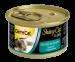 Цены на GIMPET Shiny Cat,   Цыпленок,   креветки конс.70г Влажный корм премиум - класса. Сделан из высококачественных ингредиентов. Прекрасный натуральный вкус. Без красителей и консервантов. Рекомендации по кормлению: 1 - 3 банки в день в зависимости от веса животного.П
