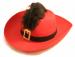 Цены на Шляпа мушкетера Замечательная шляпа пригодится для праздника,   фотосессии,   вечеринки. Шляпка выглядит очень реалистично.