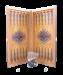 Цены на Нарды средние,   с деревянными шашками,   цветной рисунок so - 0009008