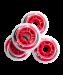 Цены на Комплект колес для роликов SW - 601,   PU,   красный so - 000273556
