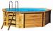 Цены на Сборный 8 - ми угольный (круглый) каркасный деревянный бассейн для дачи Procopi (Франция) 5,  3 Сборный 8 - ми угольный (круглый) каркасный деревянный бассейн для дачи Procopi (Франция) Сборные каркасные деревянные бассейны для дачи Procopi (Франция) Сборные де