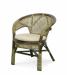 Цены на Натур - мебель Кресло 02/ 15 - 1 B Кресло 02/ 15 - 1 B. Описание: Плетёное кресло с высокими ручками и овальной спинкой. Материал изготовление: натуральный ротанг.