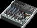 Цены на Behringer QX 1202USB Микшерный пульт с ультра низким уровнем шума,   12 каналов (4 микрофонных предусилителей XENYX,   4 стерео канала,   2 - Bus).