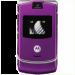 Цены на Motorola Motorola RAZR V3i Violet 1088~01 Для всех ценителей необычного подхода к дизайну и внешнему оформлению телефонов предназначена сверхпопулярная модель Motorola V3i в стильном корпусе. Этот раскладной аппарат с двумя дисплеями,   основной из которых