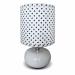 Цены на DeMarkt Настольная лампа Келли 607030101 Настольная лампа Келли 607030101/ матовая/ белый ,   черный/ 220/ модерн/ 1/ гостиную/ спальню